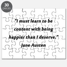 Austen - Learn to Be Content Puzzle