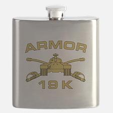 Armor - 19K Flask