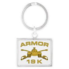 Armor - 19K Landscape Keychain