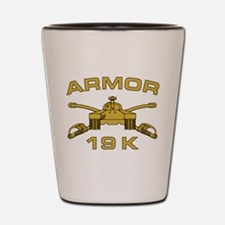 Armor - 19K Shot Glass