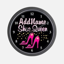 PINK SHOES Wall Clock