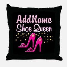 PINK SHOES Throw Pillow