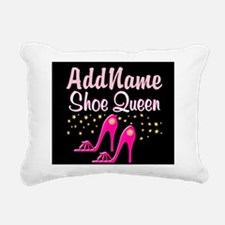 PINK SHOES Rectangular Canvas Pillow