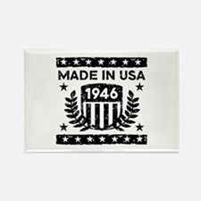 Made In USA 1946 Rectangle Magnet