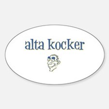 Alta Kocker (Old Fart) Oval Decal