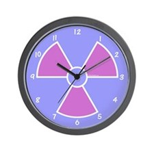 XRay Wall Clock - Lavender Blue