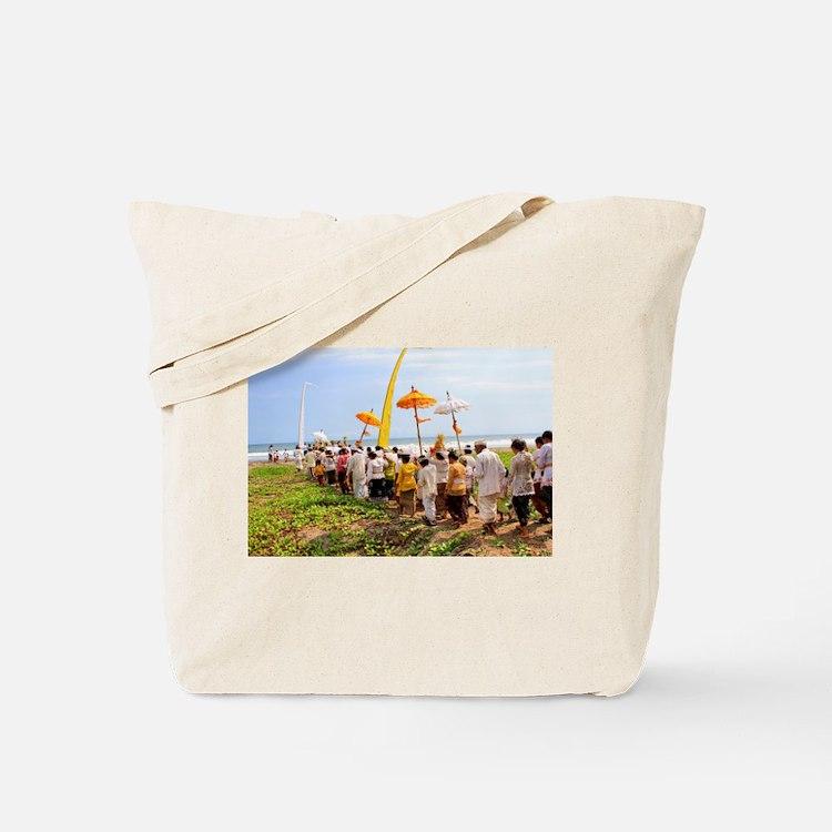 Bali Temple Ceremony 1 Tote Bag