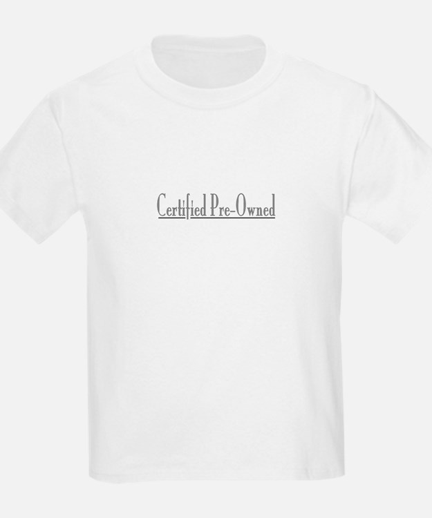 Certified Pre-Owned Kids T-Shirt