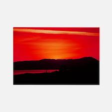Amazing Sunset Rectangle Magnet