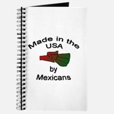 Made in the USA by Mexicans Journal