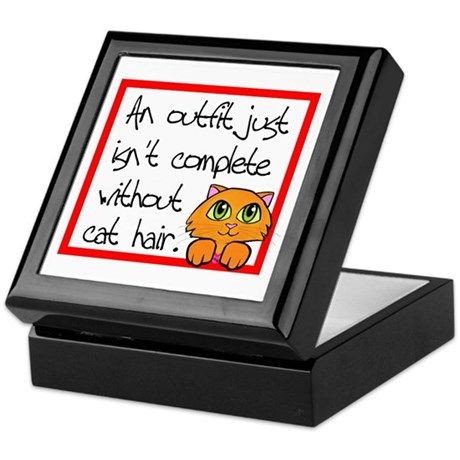 Cat Hair Keepsake Box