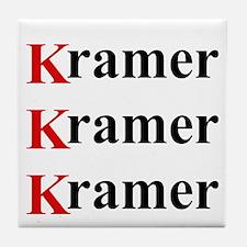 Kramer Kramer Kramer Tile Coaster