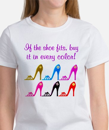 DAZZLING SHOES Women's T-Shirt