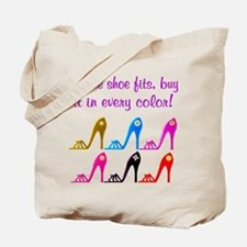 DAZZLING SHOES Tote Bag