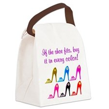 DAZZLING SHOES Canvas Lunch Bag