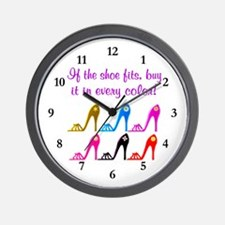 DAZZLING SHOES Wall Clock