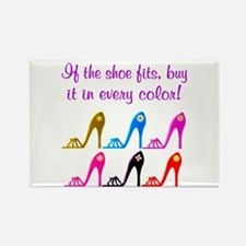 DAZZLING SHOES Rectangle Magnet