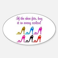 DAZZLING SHOES Decal