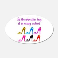 DAZZLING SHOES Wall Decal