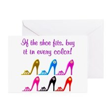 DAZZLING SHOES Greeting Cards (Pk of 10)
