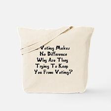 GOP War On Voting Tote Bag