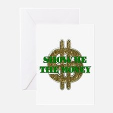 SHOW ME THE MONEY Greeting Cards (Pk of 10)