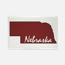 Unique Nebraska huskers Rectangle Magnet