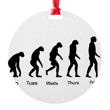 Evolution of the Weekday Ornament