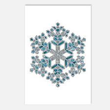Snowflake Postcards (Package of 8)