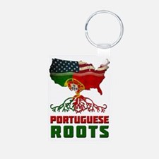 American Portuguese Roots Keychains