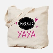 Proud Yaya Tote Bag