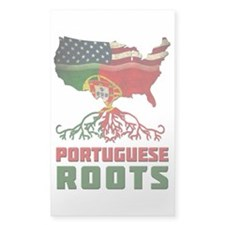 American Portuguese Roots Decal
