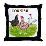 Cornish Trio Throw Pillow