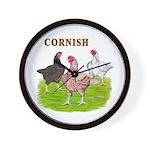 Cornish Trio Wall Clock