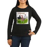 Cornish Trio Women's Long Sleeve Dark T-Shirt