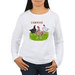 Cornish Trio Women's Long Sleeve T-Shirt