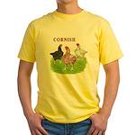 Cornish Trio Yellow T-Shirt