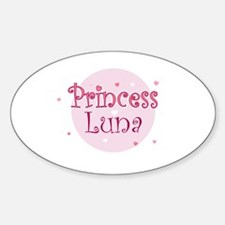 Luna Oval Decal