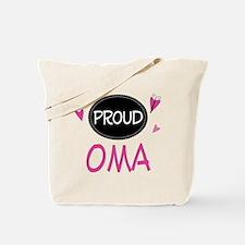 Proud Oma Tote Bag
