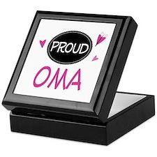 Proud Oma Keepsake Box