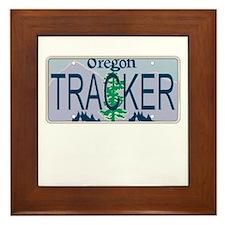 Oregon Tracker Framed Tile
