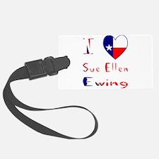 I Love Sue Ellen Ewing Luggage Tag