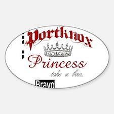Portknox Princess Decal