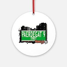 PAERDEGAT 9 STREET, BROOKLYN, NYC Ornament (Round)