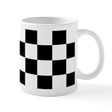 Black and White Checkerboard Mug