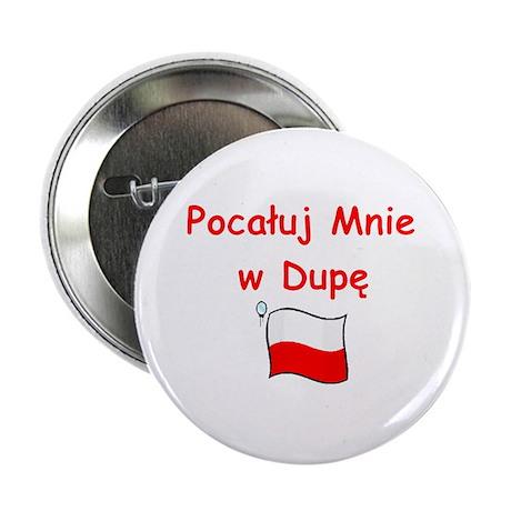 "Kiss My A@@ 2.25"" Button (100 pack)"