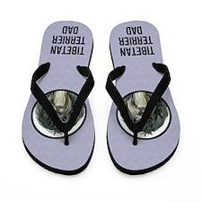 Tibetan Terrier Dad Flip Flops