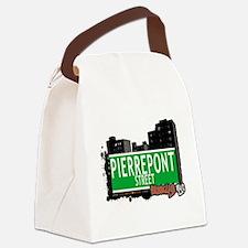 PIERREPONT STREET, BROOKLYN, NYC Canvas Lunch Bag
