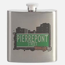 PIERREPONT STREET, BROOKLYN, NYC Flask