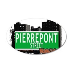 PIERREPONT STREET, BROOKLYN, NYC Wall Decal